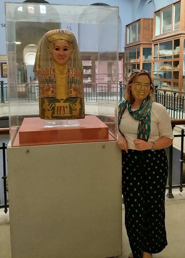 Face Swap at Cairo Museum