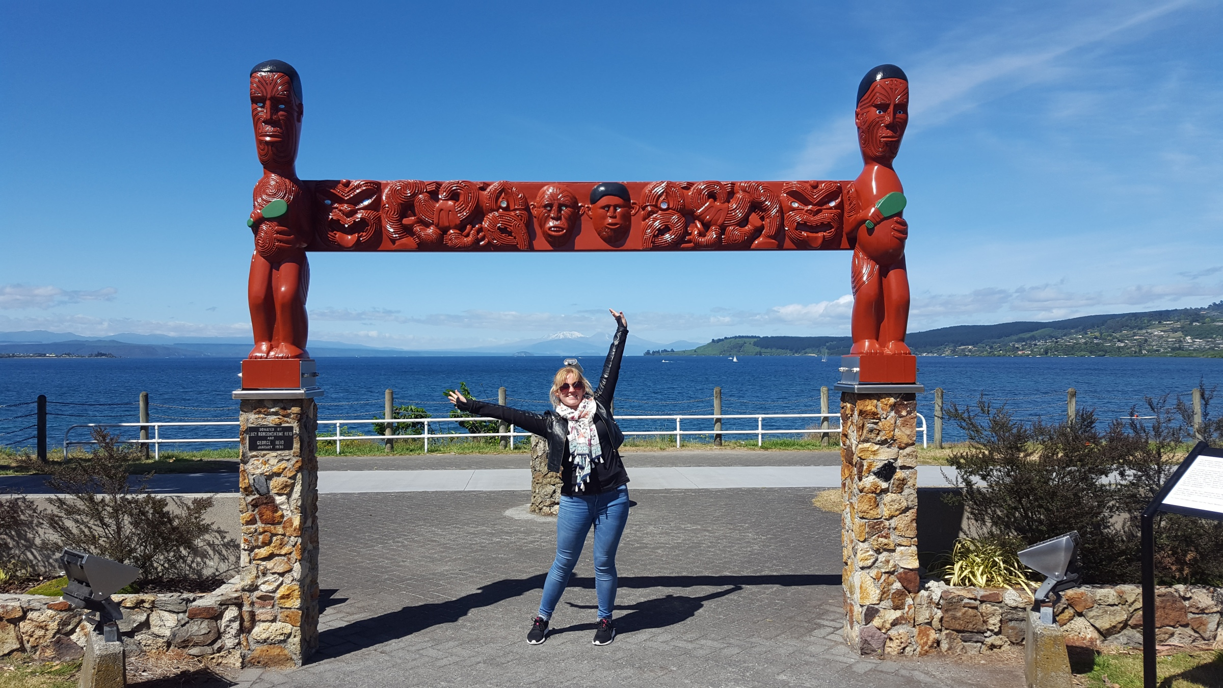 Classic tourist photo in New Zealand