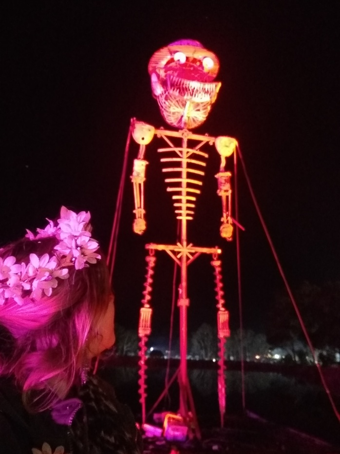 The Burning Man at the Huon Valley Mid-Winter Festival