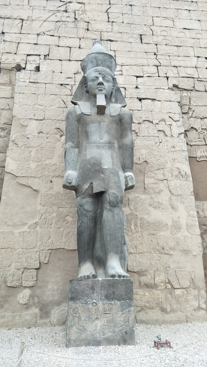 Ramses II statue at Luxor Temple