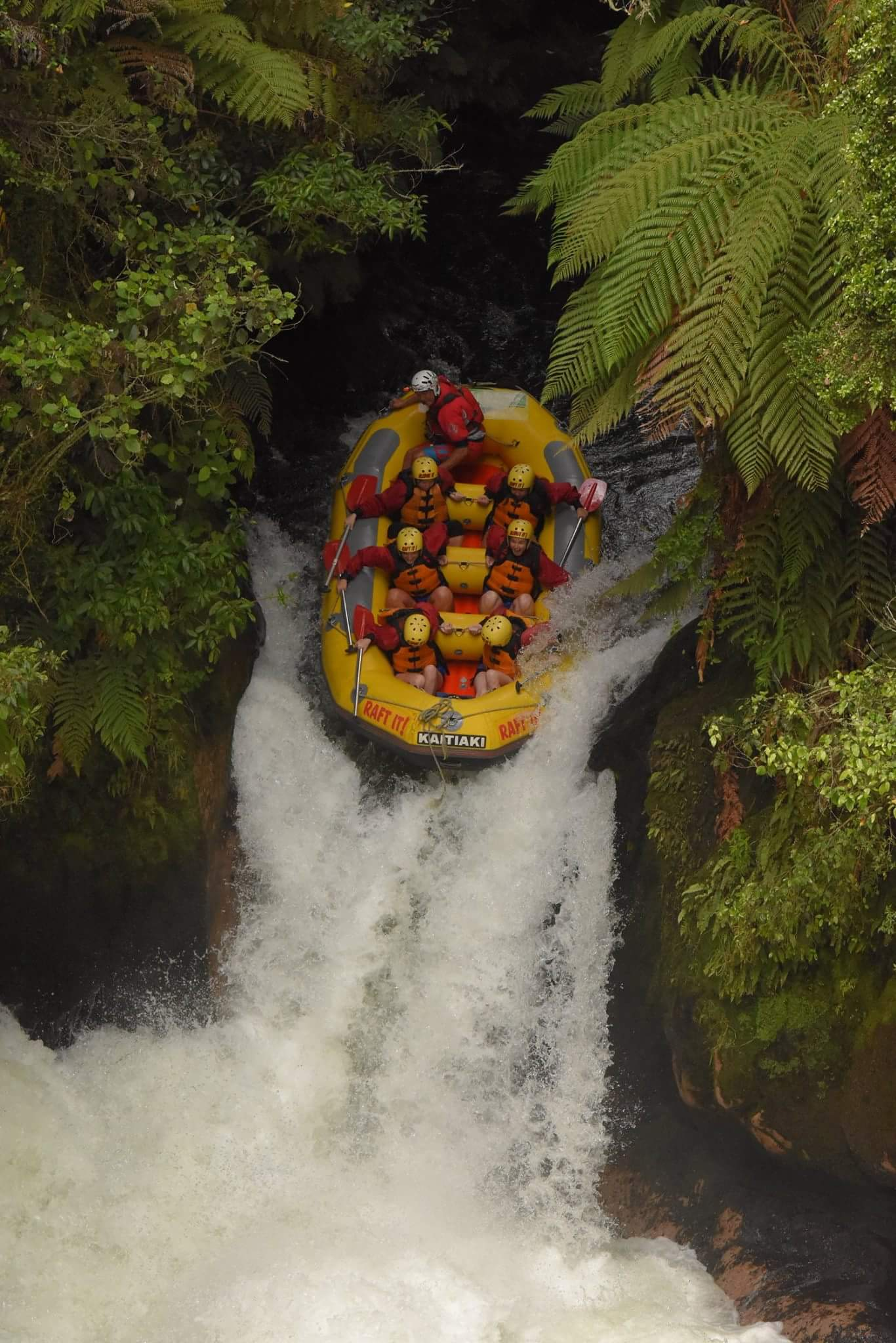 white water rafting New Zealand