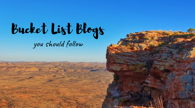 A view of the Mt Gillen Ranges as a title: Bucket List Blogs you Should Follow
