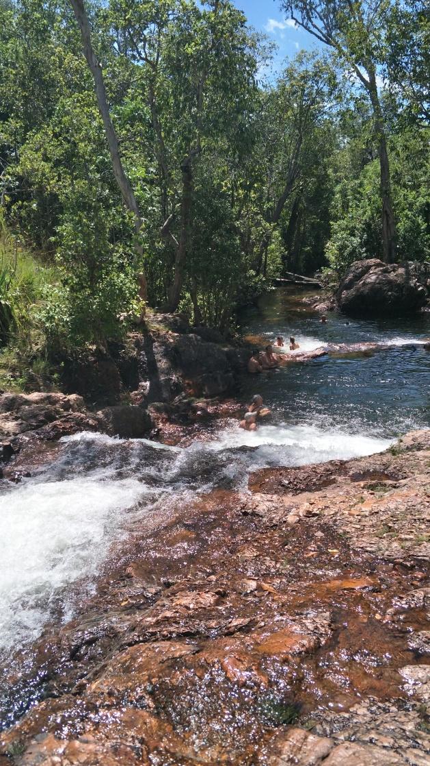 Buley Rock Hole Cascading Waterfalls