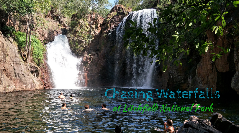 Chasing Waterfalls at Litchfield National Park