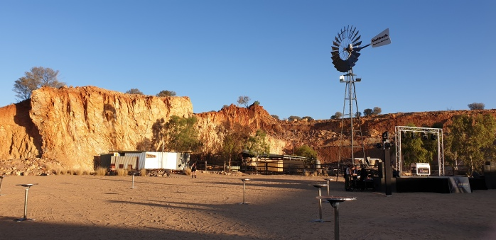 The Quarry at sunset at the FABalice Festival