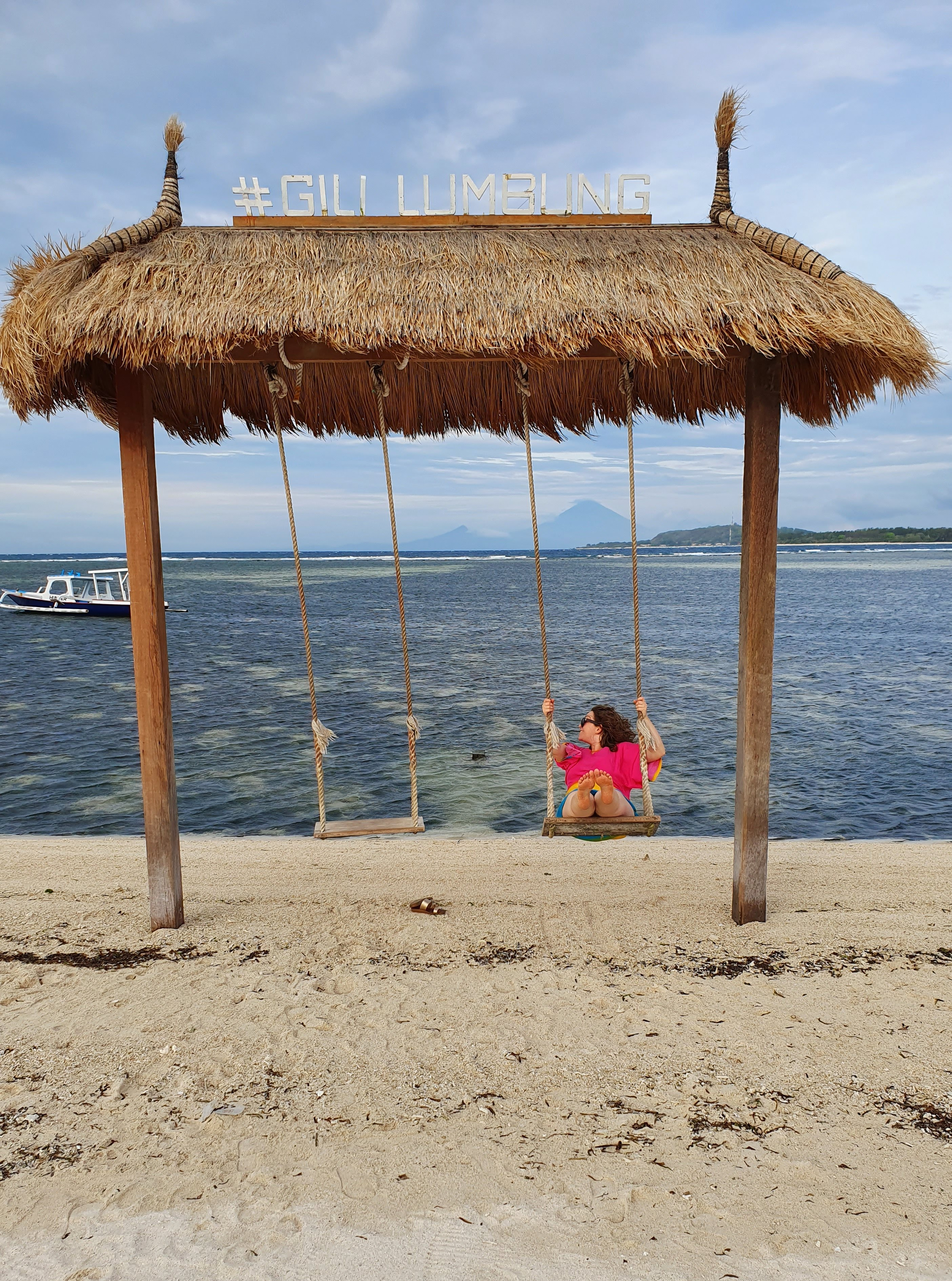 The Bali swing can be found everywhere on Gili Air www.chasingemma.com