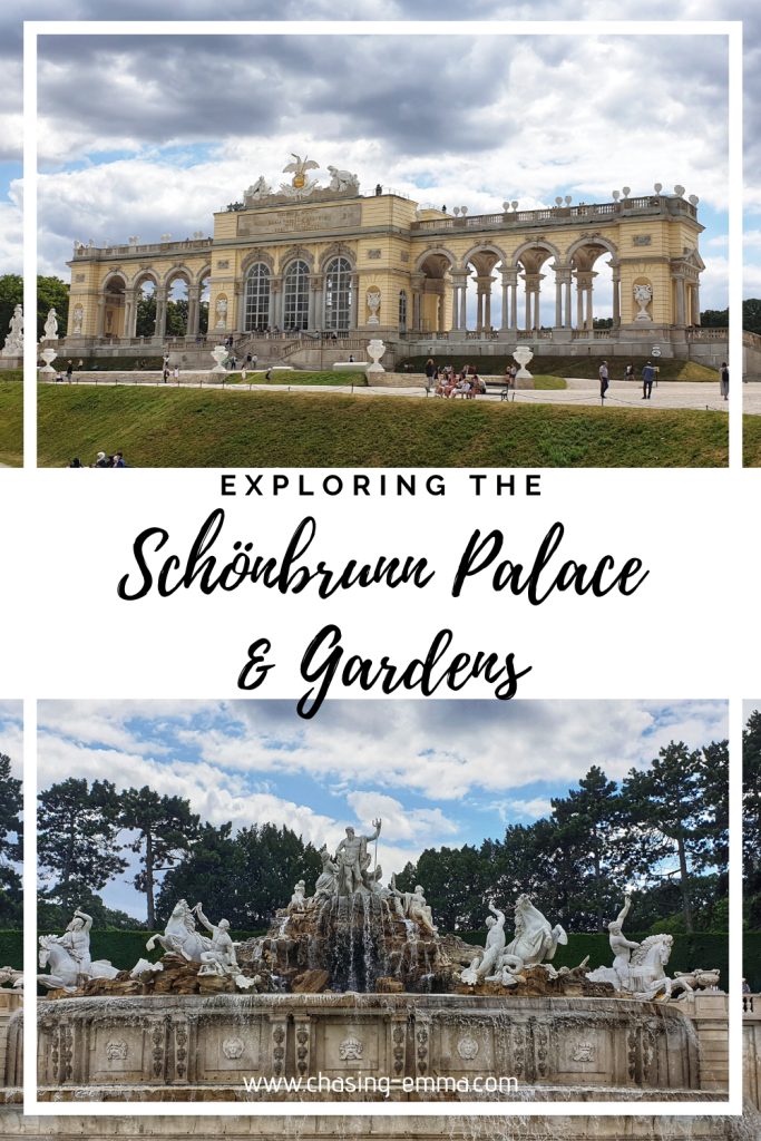 Exploring Schönbrunn Palace and Gardens, www.chasing-emma.com