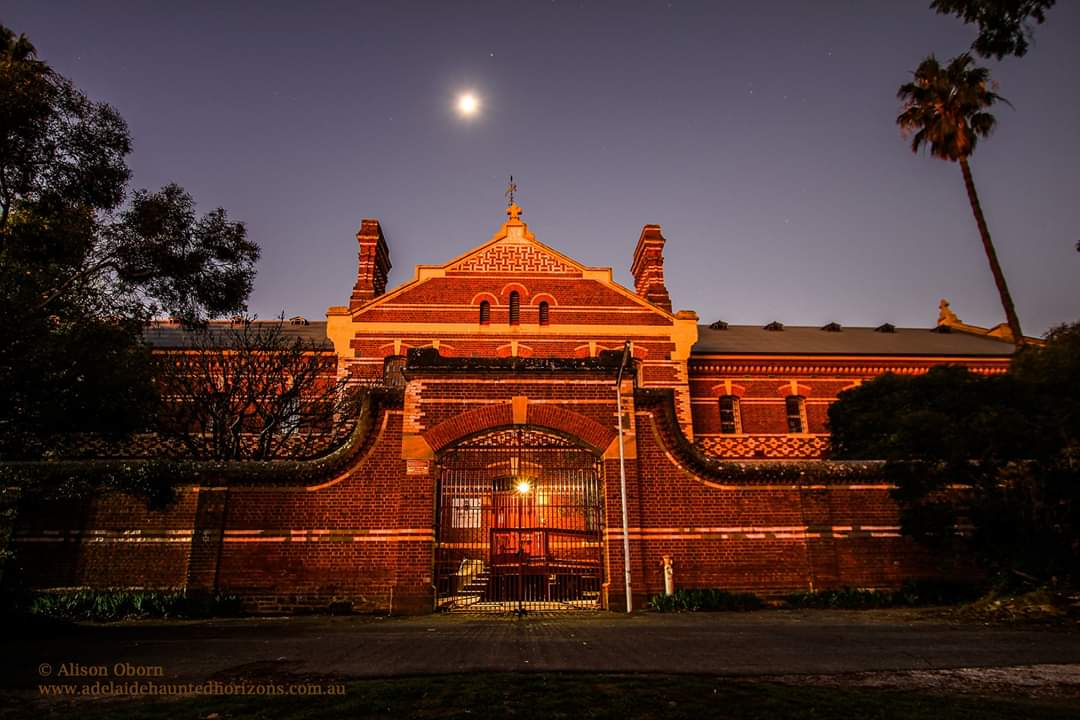 The front view of Z Ward, Adelaide