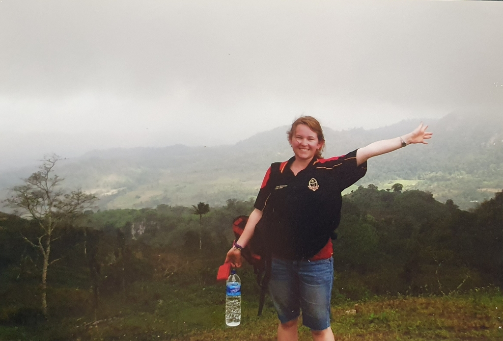 One of the few photos of me in East Timor that survive to this day.