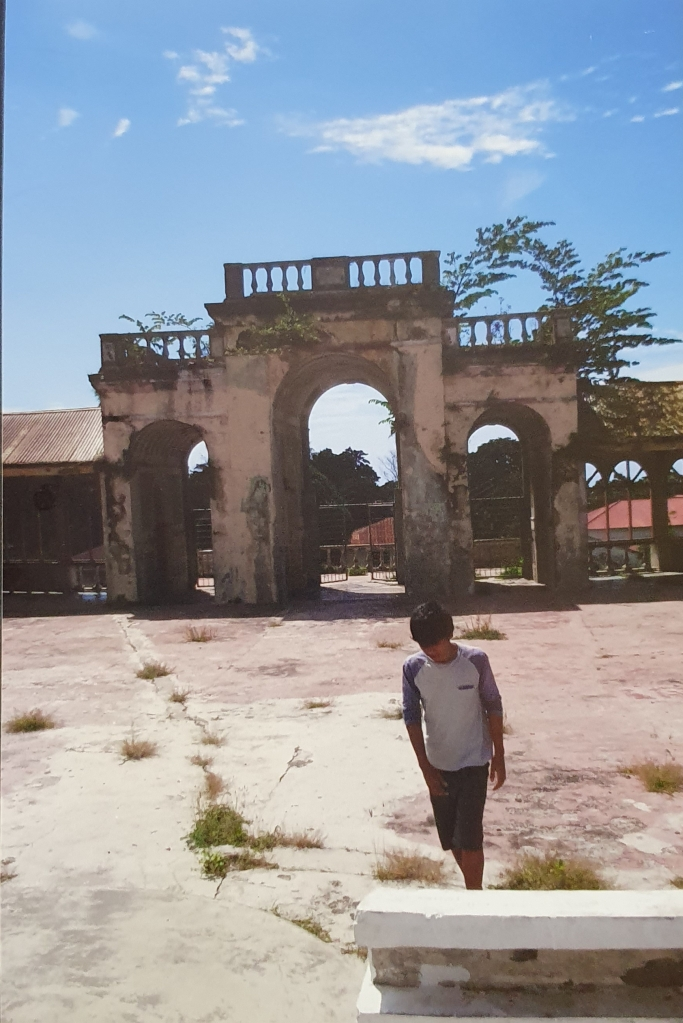 An abandoned Portuguese market place in Baucau East Timor