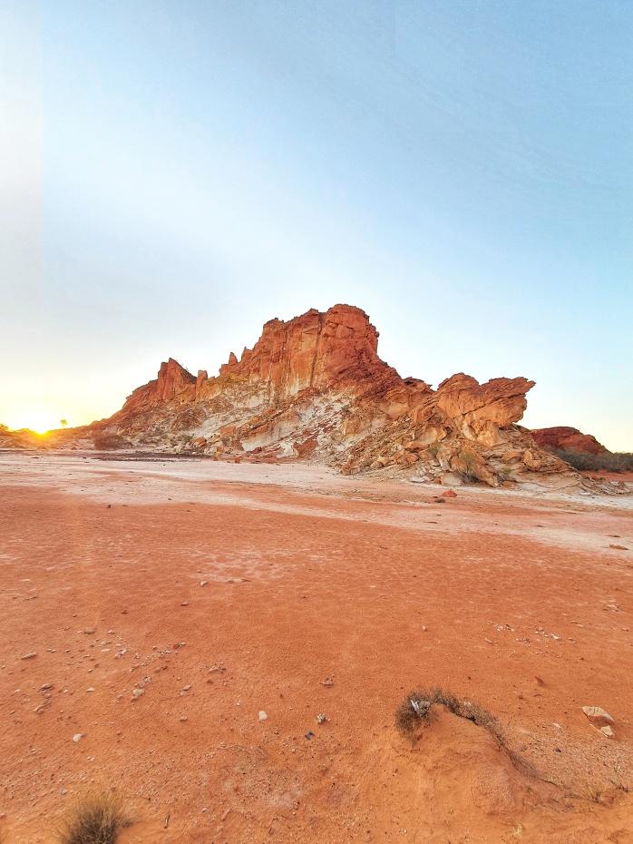 Rainbow Valley at sunrise