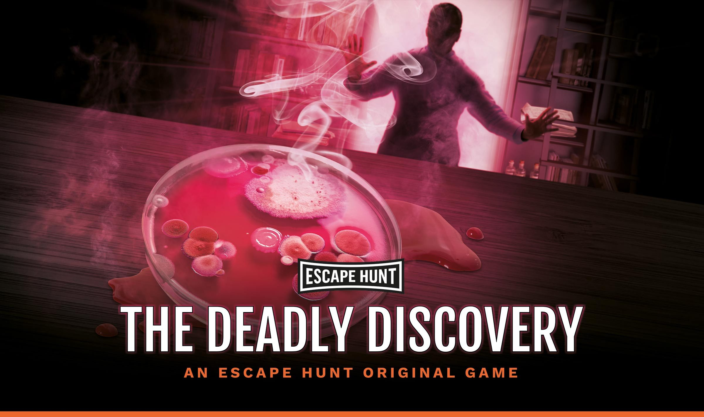 The Escape Hunt image cover the The Deadly Discovery game