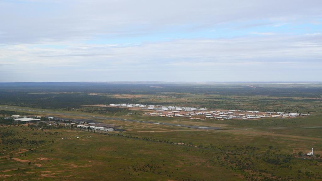 Alice Springs Aircraft Bone Yard